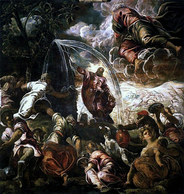 Moses_Striking_the_Rock_by_Jacopo_Tintoretto