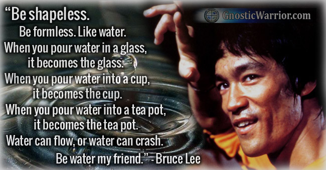 Bruce Lee Quote: Be Sh...