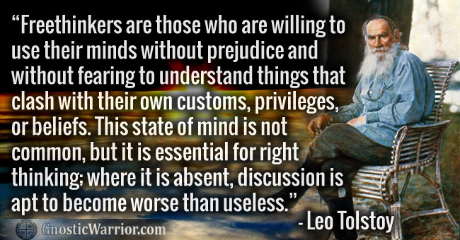 Terrence Mckenna Wallpaper Quotes Leo Tolsky Quote Freethinkers Are Those Who Are Willing