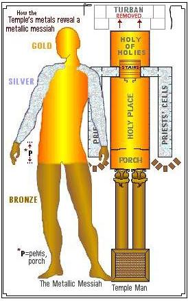 Holy of holies The Two Golden Cherubim in Our Brains
