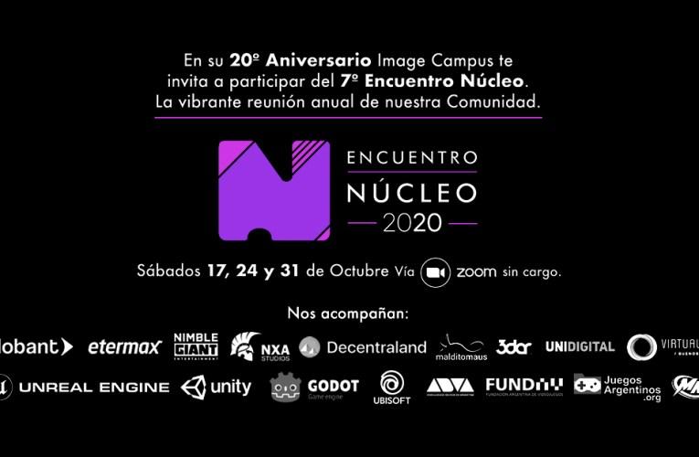 """IMAGE CAMPUS anuncia la séptima edición del """"ENCUENTRO NÚCLEO"""", su evento anual para la comunidad de arte, animación y videojuegos"""