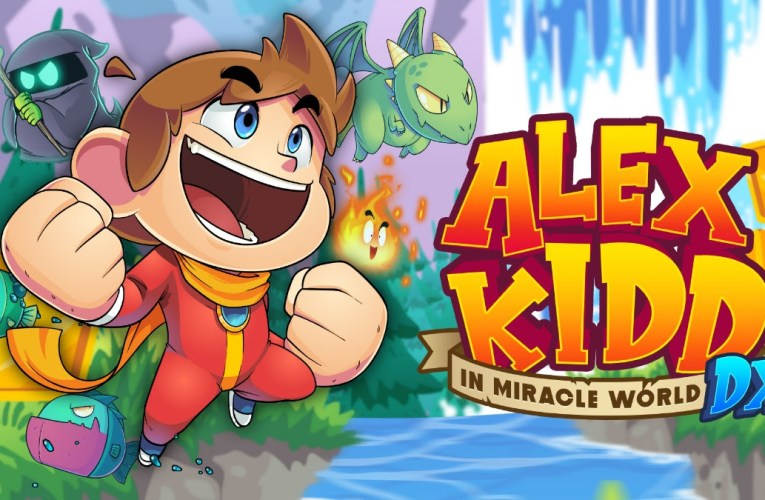 Alex Kidd in Miracle World DX llega a PC y consolas el 24 de junio