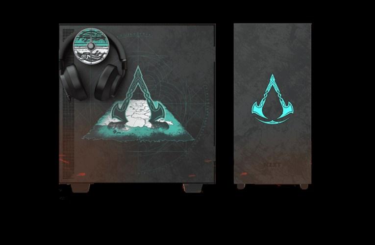Increíble gabinete de Assassin's Creed Valhalla de NZXT