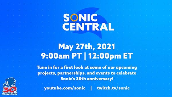 Transmisión en vivo de Sonic Central News programada para el 27 de mayo