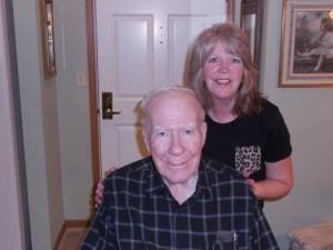 Bridget and her Dad, Bill.