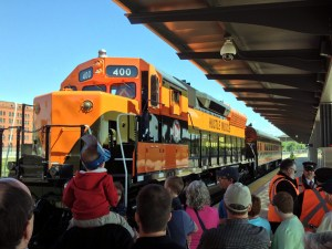 Hustle Muscle at National Train Day 2015 in St. Paul
