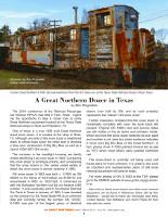 A GN Dozer In Texas Article