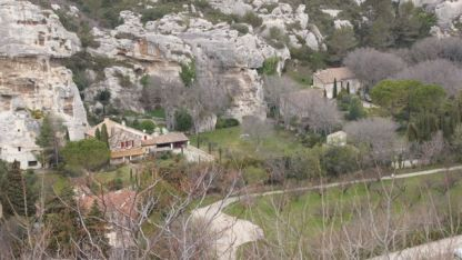 Les Baux - the 'new' village