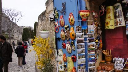Gifts shops in Les Baux
