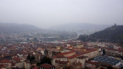 Looking over Vienne