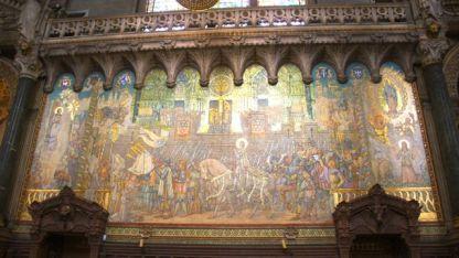 fine mosaic work