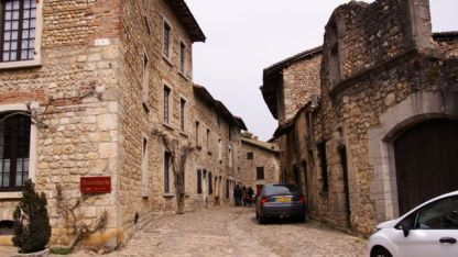 Quaint village of Perouges