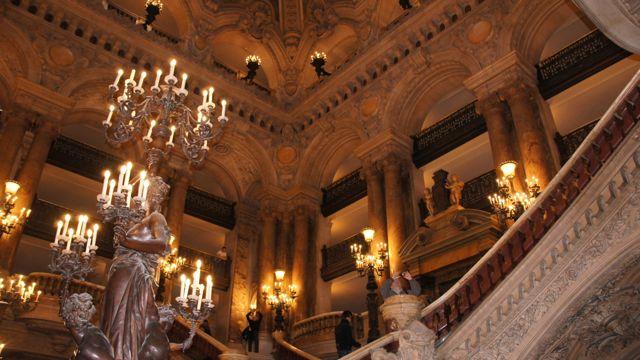 The Opera inside