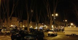 The night lights of Tournon