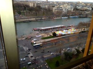 View from Eiffel Tower Restaurant