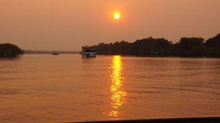 Zambezi sunset.