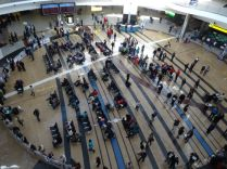 "The enormous ""atrium' at Johannesburg Airport"
