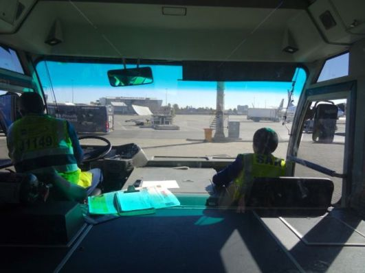 Johannesburg Airport transfer bus