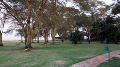 The grounds at Amboseli/Ol Tukai