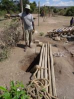 The hand made water bore