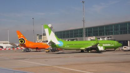 Colourful Aircraft at Cape Town
