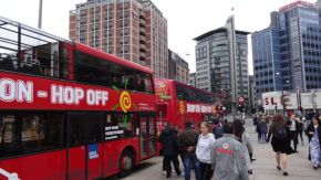 The Big Red Hop On Hop Off Bus