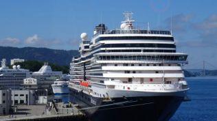 We will be joining this ship the Eurodam in Copenhagen
