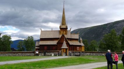The stave church at Lom