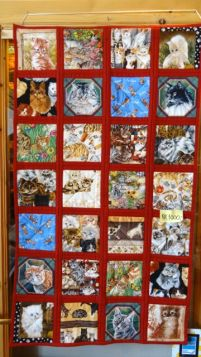 wonderful tapestry in the gift shop - not purchased