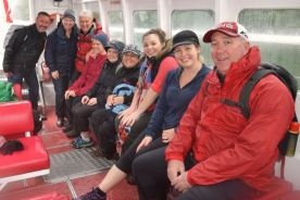Lyn Spain - Group Photo after Milford Sound Walk