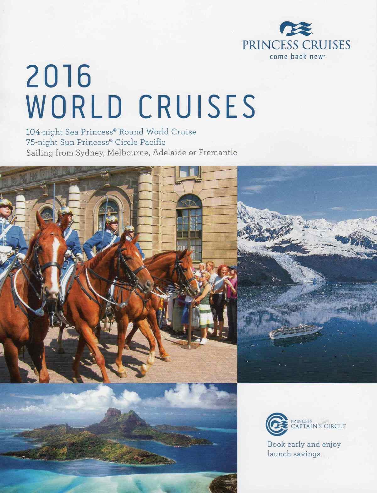 2016 World Cruises