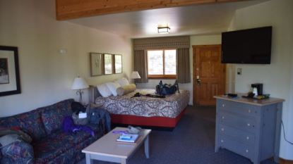 Comfortable rooms Kenai Princess Wilderness Lodge