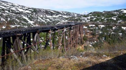 Dis-used tressle bridge