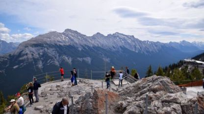 On top of the Banff World