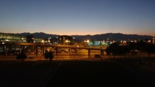 Early am Santiago Airport