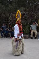 We were entertained by this traditional dancer.