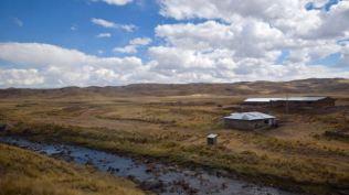 Wide open prairie