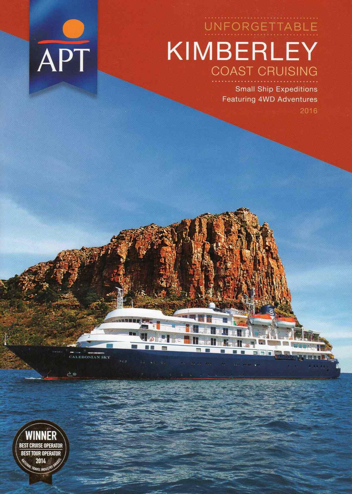 APT Kimberley Coast Cruising Brochure