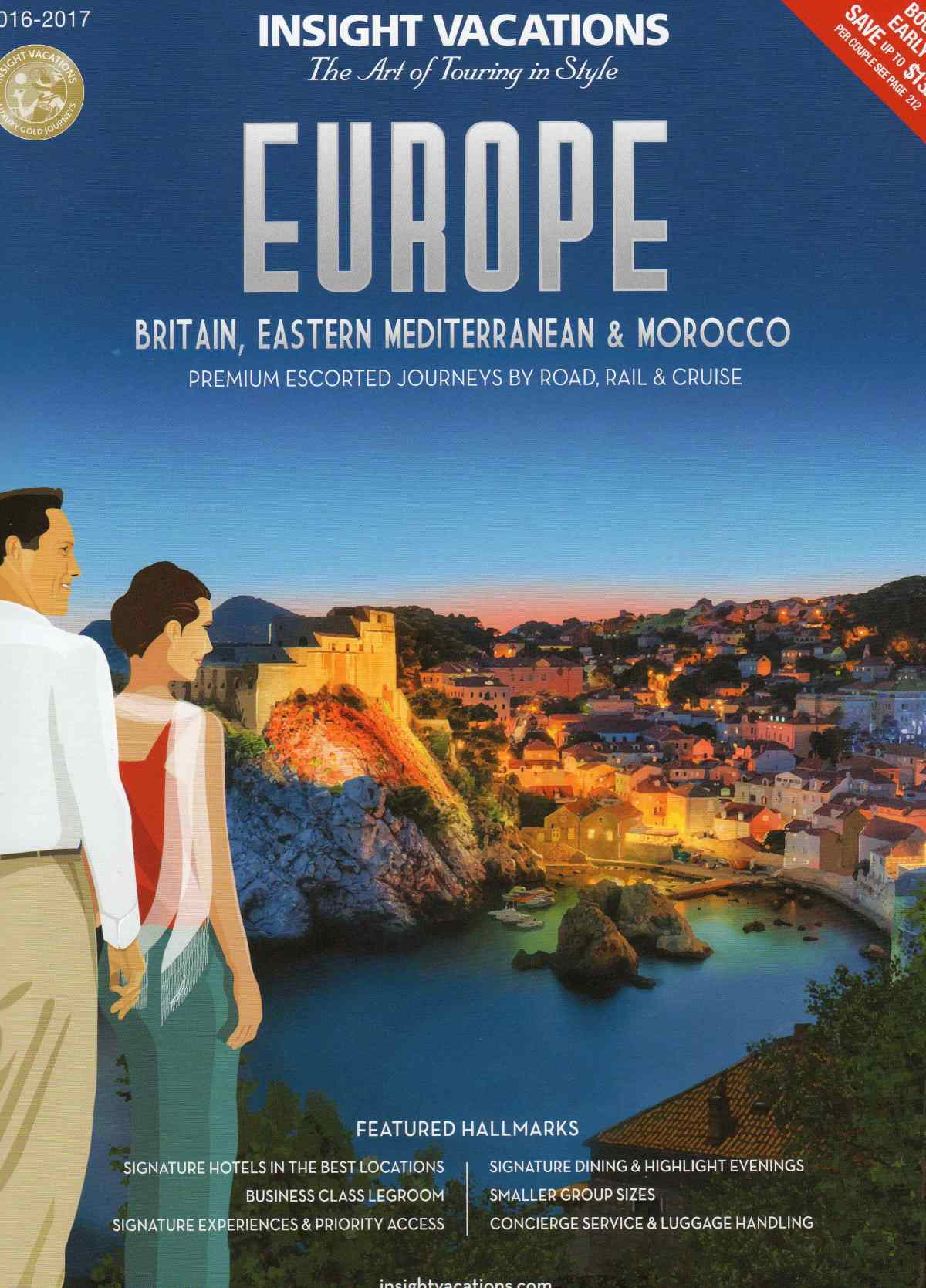 Insight Vacations Europe Brochure