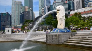 The 'old' icon of Singapore