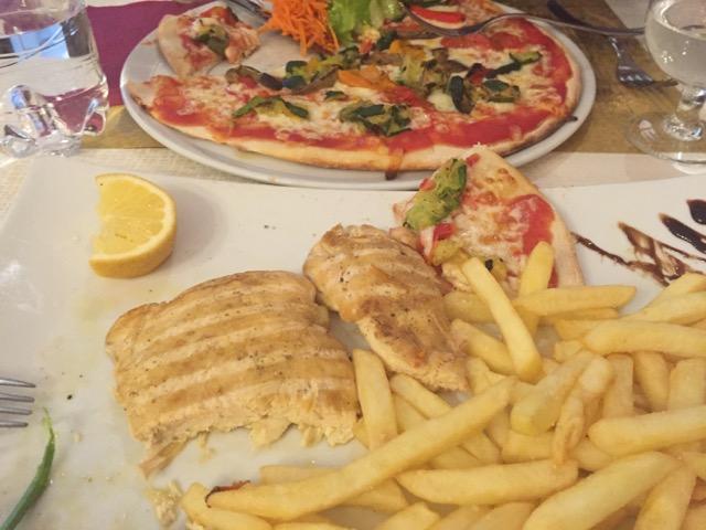 Pizza in Italy? Nah!