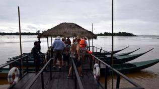 Catamaran canoes