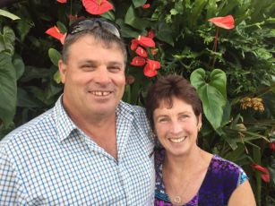 Greg and Deb