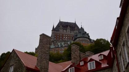 Last view of the Fairmont - Quebec