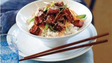 Photo of طريقة تنفيذ لحم وأرز على الطريقة الصينية