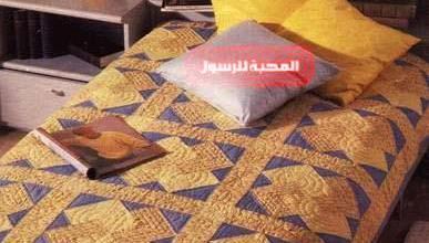 Photo of فن الباتشورك وطريقة تنفيذ مفرش سرير