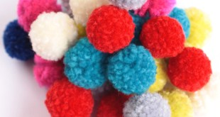 كرات الصوف How to Make a Pom Pom