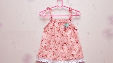 Photo of فستان طفلة صيفي بالباترون