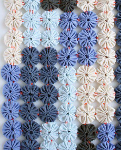 طريقة تشبيك زهور اليويو