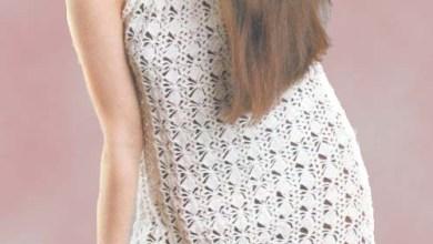 Photo of فستان كروشية للصيف مع الباترون